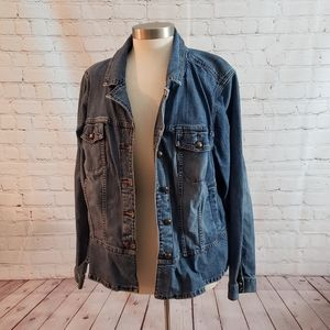 Venezia (lane bryant) Denim Jacket Sz 22/24